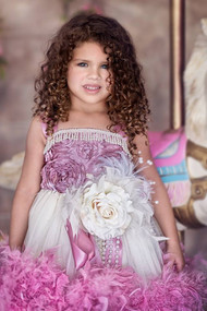 Stunning Couture Feather Tutu Dress | Couture Princess Party Dress