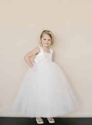 Wedding Flower Girl And First Communion Gown By Amalee Couture