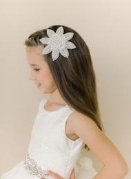 Girls Couture Crystal Hairpin | Wedding Flower Girl Couture Hairpin