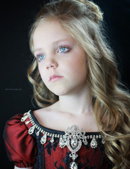 Girls Couture Victorian Ball Gown | Girls Masquerade Ball Gown