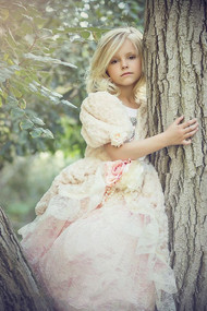 Couture Princess Lace Ball Gown For Girls | Flower