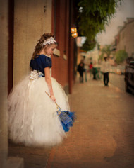 Girls Couture Birthday Tutu | Couture Wedding Flower Tutu Dress