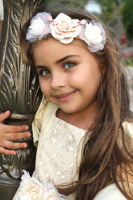 Venetian Couture Girls Headband | Couture Kids Flower Headband