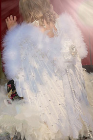 Kids Couture Feather Angel Wings | Swavrovski Feather Wings For Kids