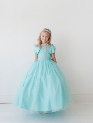 Girls Beaded Pageant Dress | Affordable Pageant Dress For Kids