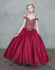 Beautiful Pageant Girl Dress | Girls National Pageant Dress