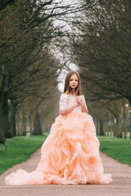 Gorgeous Couture Dress For Girls | Handmade Couture Gown For Girls