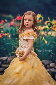 Girls Fairy Tale Gown For Wedding | Formal Party Dress For Girls