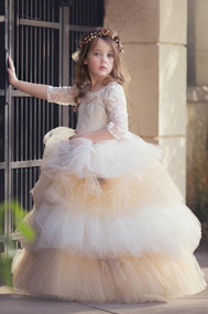 Magical Princess Gown | Beautiful Special Occasion Girls Gown