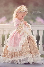 Victorian Style Ball Gown For Girls   Girls Formal Gown