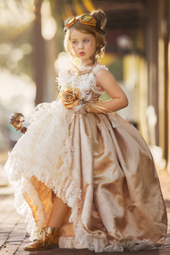 Custom Made Girls Special Occasion Dress | Girls Beautiful Couture Dress