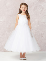 girls white dress for communion
