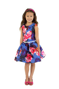 Gorgeous Kids Watercolor Special Occasion Dress