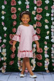 Girls Beautiful Lace Dress | Girls Party Dress
