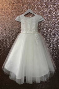 Petite Adele Couture Ivory Communion Dress