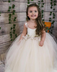 Amalee Couture Flower Girl Party Dress For Baby