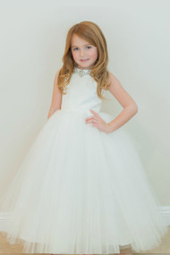 Stunning Amalee Couture Flower Girl And 1st Communion Dress