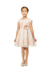 Princess Collection Girls Vintage Lace Party Dress