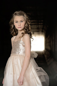 Girls Sequin Party Dress | Girls Special Occasion Dress