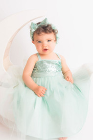 Charming Baby Party Dress With Sequin Bodice