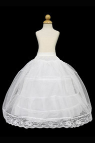 2 Hoop Petticoat For Girls Pageant Dress And Party Dress