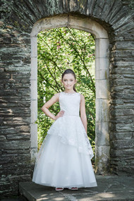 Macis Design Couture 1944 Stunning Lace Tulle 1st Communion Dress