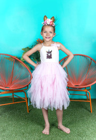 Lovely Girls Birthday Party Tutu Dress For Special Occasion