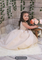 Simply Beautiful Amalee Couture Satin Flower Girl Dress