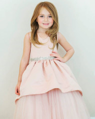 Gorgeous Wedding Party Flower Girl Dress By Amalee Couture