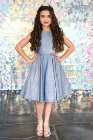 Beautiful Teen Special Occasion Glitter Dress