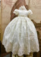 Beautiful Couture Christening Gown With Hand Beaded Lace