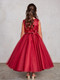 Girls Beautiful Pageant Dress With Sequin Bodice