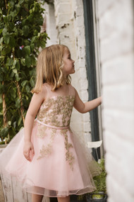 Gorgeous Girls Short Pageant Dress With Layered Tulle Skirt