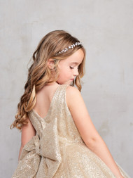 Stunning Girls Winner Glitter Pageant Dress With Train