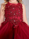 Beautiful Organza Horse Tail Ruffled Pageant Dress For Girls
