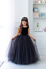 Super Cute Girls Tutu Floor Length Special Occasion Party Dress