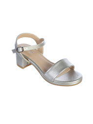 Girls Special Occasion Dressy Sandals With Block Heels