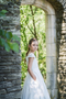 Elegant Girls Flower Girl Communion Satin Dress By Macis Couture