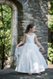 Macis Couture Beautiful Satin And Tulle 1st Communion Dress
