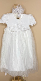 Macis Couture Infant Baby Girl After Christening Party Dress