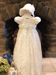 All Over Lace Christie Helene Baptismal Christening Gown