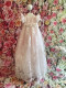 Delightfully Sweet Christie Helene Baby Organza Lace Baptismal Gown