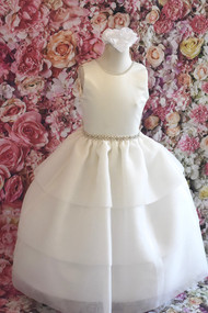 Christie Helene Couture Communion Dress In Beautiful Organza