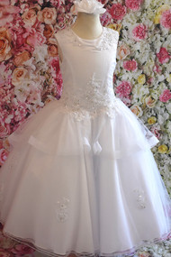 Christie Helene Elite Satin Organza First Communion Gown