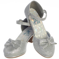 Girls Beautiful Pageant  Communion Shoes With Rhinestone Straps
