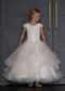 Teter Warm Girls Couture First Communion Organza Gown