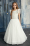 Teter Warm Couture Girls Champagne Off White Special Occasion Gown