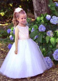 Couture Wedding Party Flower Girl Birthday And Baby Special Occasion Dress