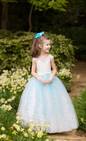 Couture Flower Girl Tutu Pageant Dress Baby Tutu Birthday Party Dress