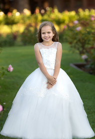 Special Occasion Communion Pageant Gown Baby Toddler Party Baptism Dress